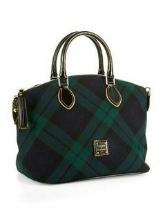 Shop for Dooney & Bourke Tartan Plaid Satchel at ShopStyle. Handbags Michael Kors, Purses And Handbags, Tweed, Style Anglais, Burberry, Tartan Fashion, Scottish Plaid, Looks Chic, Tartan Plaid