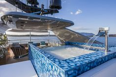 Sit in pole position at the Monaco Grand Prix on the motor yacht Nameless - Monaco Grand Prix, Floating House, Cool Pools, Awesome Pools, Motor Yacht, Luxury Yachts, Florence Italy, Boats For Sale, Luxury Lifestyle