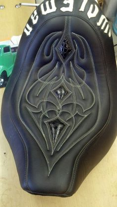 Motorcycle seat fetish