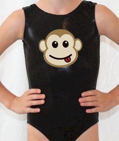 Mystique Monkey Leotard Gymnast Gymnastics cxs cs cm cl cxl. $36.98, via Etsy.