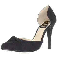 @Overstock.com - Fahrenheit Women's 'CR-03' Knot Detail Pointed-Toe Pumps - These pointed toe pumps make your feet look great for any occasion. The footbed is padded and will allow to walk in comfort for long periods. The 4-inch stiletto heel is adorned with a knot detail, and the rubber sole cushions your feet from impact.  http://www.overstock.com/Clothing-Shoes/Fahrenheit-Womens-CR-03-Knot-Detail-Pointed-Toe-Pumps/7676410/product.html?CID=214117 $25.99