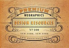 Tutorial l Creating a Vintage Typography Layout in Adobe Illustrator Useful for creating type with a vintage feel Web Design, Graphic Design Tutorials, Tool Design, Graphic Design Inspiration, Vector Design, Design Ideas, Adobe Illustrator Tutorials, Photoshop Illustrator, Vintage Typography