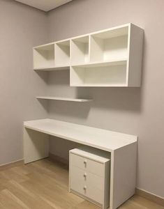 Best DIY Crafts For Teen Girls Bedroom Ideas Shelves .- Best DIY crafts for teen girls bedroom ideas shelves ideas, - Study Room Decor, Decor, Bedroom Decor, Trendy Home, Home, Interior, Home Office Shelves, Home Office Decor, Home Decor