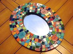 Fiesta Ware Mirror