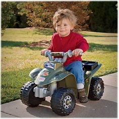 Bass Pro Shops Fisher-Price Power Wheels Lil Quad Camo ATV for Toddlers
