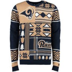 Cleveland Browns NFL 2015 Patches Ugly Crewneck Sweater | Brown ...