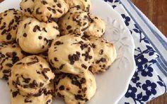 Πανεύκολα Μπισκοτάκια με ζαχαρούχο! Biscuit Bar, Biscuit Cookies, Yummy Cookies, Cake Cookies, Sweets Recipes, Cookie Recipes, Greek Desserts, Cookie Tutorials, Sweets Cake