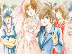Hikaru & Misa's wedding. Rick and Lisa Robotech Macross