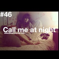 All The Time, Even When I'm Sleeping <3