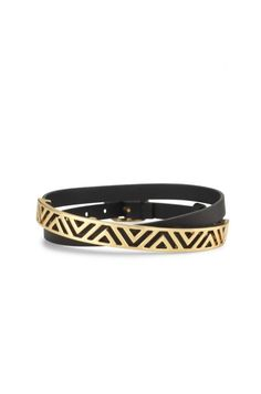 Gold plating & brass adds a gorgeous touch to our leather wrap bracelet. Add an arm of bangles to our leather bracelets for women from us at Stella & Dot.