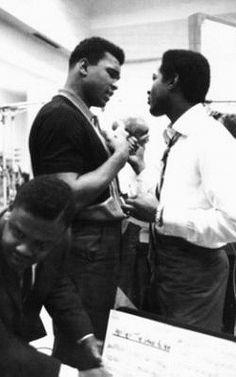 Muhammad Ali & Sam Cook