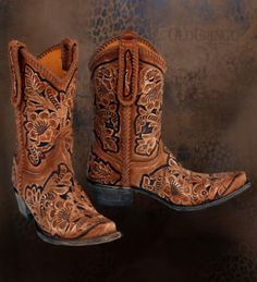 The ultimate - Old Gringo boots My mom has and they look amazing with everything!