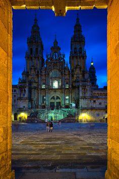 Catedral de Santiago de Compostela Galicia Spain