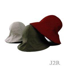 33a5aac21e80a J2R Wool Blended Bucket Style Fedora Women s Hats JRFF016 - Korea Made   J2RKorea  Bucket