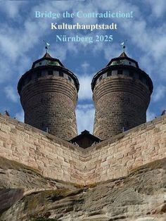 'Bridge the Contradiction! Nürnberg 2025 XVII' von Martin Blättner bei artflakes.com als Poster oder Kunstdruck $15.77