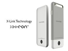 iPhone case and dock that equips your phone with a secondary X-Link port and also acts as a portable battery.