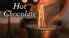 Hot Chocolate Drink - 18th Century Cooking Jas Townsend and Son S4E4