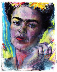 """""""The Eyes of Frida Kahlo"""" #art #love"""