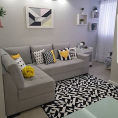 Home Decor – Decor Ideas – decor Classy Living Room, Simple Living Room Decor, Living Room Decor Inspiration, Colourful Living Room, Home Decor Furniture, Home Decor Bedroom, Sitting Room Decor, Modern Room, Living Room Designs
