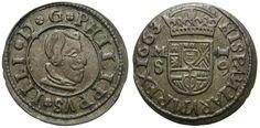 FELIPE IIII, 16 MARAVEDIS. 1663. MADRID - S. BUENA CALIDAD. | eBay