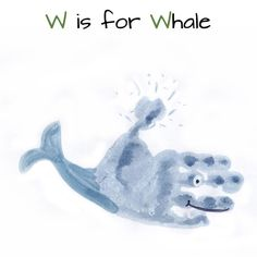pintura mao baleia