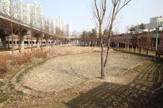 최근 설계용역에 들어간 친환경 생태공원 양평유수지의 모습(2014.2.24.)