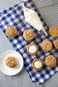 Carrot cake whoopie pies from Annie's Eats
