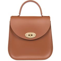 eeecab73c4 Charlotte Elizabeth Bloomsbury Bag in Chestnut Leather - Meghan Markle's  Handbags