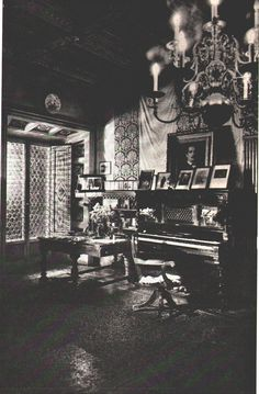 Giacomo Puccini's piano at his Torre del Lago estate