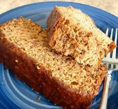 "Weight Watchers 1-Point Banana Bread: ""This banana bread was so easy and quick to throw together! My bananas were very ripe, so I used only 3/4 cup of Splenda and it came out just right. It smelled divine when baking."" -Miss Annie in Indy"