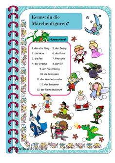 Kennst du die Märchenfiguren?