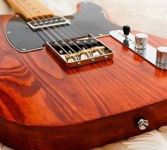 T Style guitar finished with Wudtone DYI kit