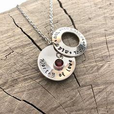 d3da0ce1e I am my beloveds Hebrew Necklace Sterling Silver | Etsy Joyas, Topacio  Rosa, Regales