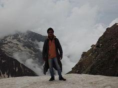 Me at Awsome Shrikhand (Lord Shiva)