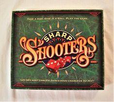 Sharp Shooters Dice Board Game Milton Bradley Vintage 1994 Missing ONE die Milton Bradley, Traditional Games, Dice Games, Cool Toys, Board Games, Give It To Me, Boards, Ghostbusters Game, Shooter Games