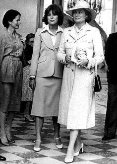 HSH Grace Kelly with her daughter Princess Caroline