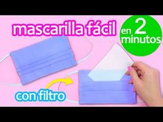How to Make Face Mask With Filter Pocket ~ DIY Face Mask at Home in 2 minutes Hi! In this video I show you how to make a fabric face mask with filter pocket in 2 minutes! Easy Face Masks, Homemade Face Masks, Diy Face Mask, The New School, New School Year, Pocket Pattern, Diy Mask, Mask Making, Sewing Projects