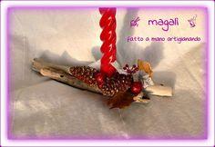 centrotavola natalizio di bosco e mare - sinide magali