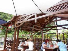 restaurant centru Gyula Outdoor Structures, Outdoor Decor, Home Decor, Decoration Home, Room Decor, Home Interior Design, Home Decoration, Interior Design