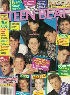 ♥Teen Beat Magazine ~ New Kids On The Block♥