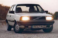 Volvo 360, mijn eerste auto. Oude bak, maar een met power! ❤
