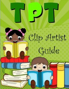 Use this FREE ebook to discover some new clip artists on TpT!