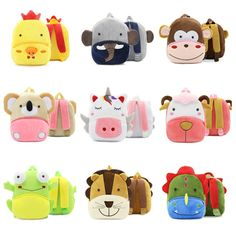 Children Learning Education Toy Soft Animal Dolphin Multifunction Pluah Backpacks Toy Backpacks Toy For Children Available In Various Designs And Specifications For Your Selection Toys & Hobbies