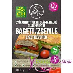 Szafi Free csökkentett szénhidrát-tartalmú gluténmentes bagett / zsemle lisztkeverék 1000 g