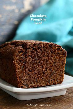 Vegan Chocolate Pumpkin Cake   Vegan Richa
