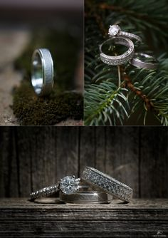 Wedding Rings / Albany Country Club Wedding – © Matt Ramos Photography