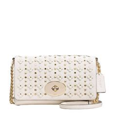 Coach Crosstown Crossbody in Floral Rivets Leather*