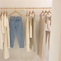 "leeayeon on Instagram: ""😚 Beige aesthetic Clothes Style"