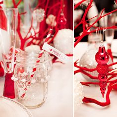 NEW: Mod & Merry Peppermint Twist – Part 1 {Home Dinner & Desserts Party}