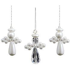Deko und Accessoires für Weihnachten: Engel-Anhänger Bastel-Set für 32 Perlen-Engel made by BODA Creative via DaWanda.com